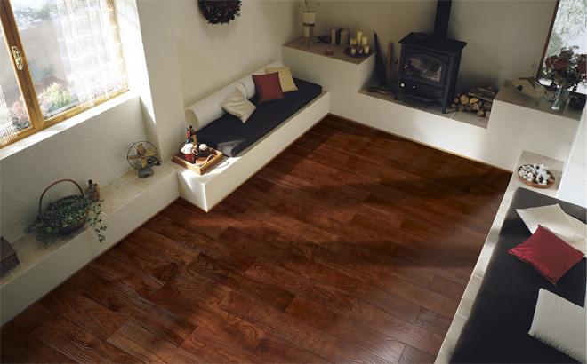 样板房效果图 - 实木地板